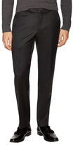 Z Zegna Wool Flat Front Trousers