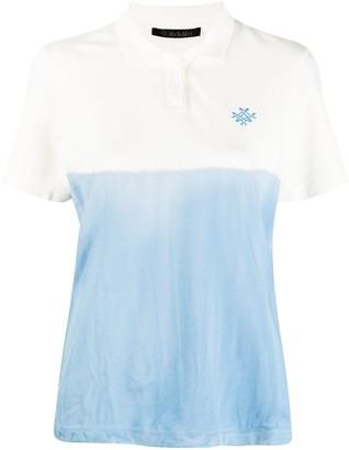 Mr & Mrs Italy Logo Colour-Block Polo Shirt
