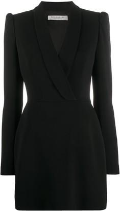 Philosophy di Lorenzo Serafini Tailored Wrap Mini Dress