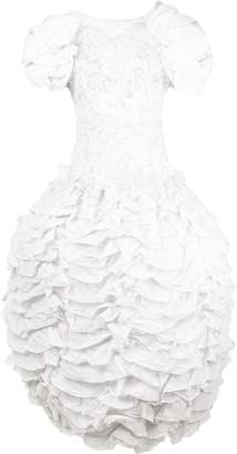 Valentino Pre-Owned 1990's ruffled lace gown