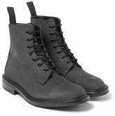 Tricker's Grassmere Nubuck Boots - Black