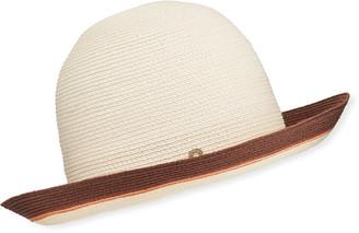 Loro Piana Kate Streaks Hemp Floppy Hat