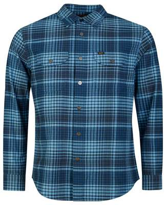 Lee Sustainable Worker Check Shirt Colour: Frost Blue, Size: SMALL
