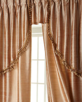 """Sweet Dreams Two 52""""W x 96""""L Curtains with Tassel Fringe at Bottom"""