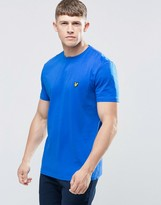 Lyle & Scott T-Shirt With Eagle Logo In Blue