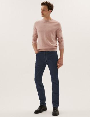 Marks and Spencer Shorter Length Slim Fit Stretch Jeans