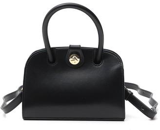 MANU Atelier Logo Top Handle Bag