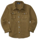Ralph Lauren Boys' Quilted Duofold Shirt Jacket - Sizes 2-7