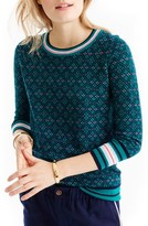 J.Crew Women's Tippi Festive Fair Isle Sweater