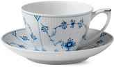 Royal Copenhagen Blue Fluted Plain Cup and Saucer