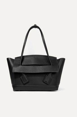 Bottega Veneta Arco Medium Textured-leather Tote - Black