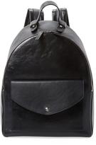 Jil Sander Patent Leather Backpack
