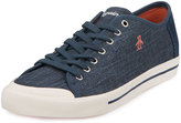 Original Penguin Chiller Linen Sneaker, Dress Blues