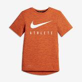 Nike Athlete Big Kids' (Boys') Short Sleeve Training Top