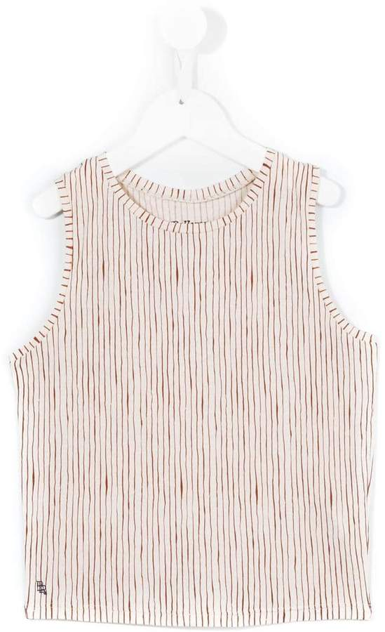 Bellerose Kids striped tank top