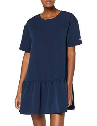 Tommy Jeans Women's TJW Solid Dropped Waist Dress,S