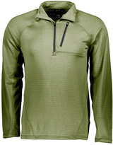 Lime Lightweight Quarter-Zip Pullover