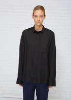 Haider Ackermann Black Oversized Shirt
