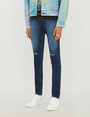 No.91 Ripped skinny jeans