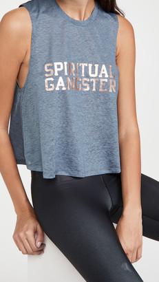 Spiritual Gangster SGV Active Crop Tank