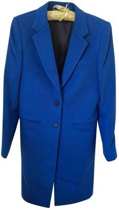 Joseph Blue Wool Coat for Women