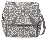 Petunia Pickle Bottom Infant 'Boxy' Chenille Convertible Diaper Backpack - Grey