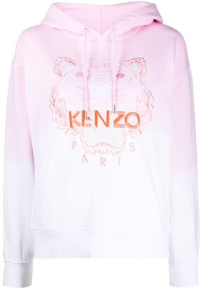 Kenzo Tiger ombre hoodie