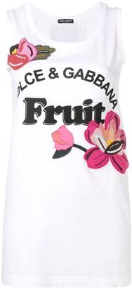 Dolce & Gabbana Fruit tank top