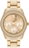 INC International Concepts Women's Gold-Tone Bracelet Watch 40mm IN001G, Only at Macy's
