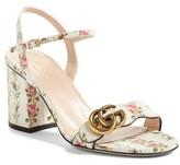 Gucci Women's Marmont Block Heel Sandal