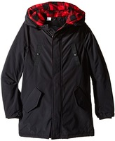 Little Marc Jacobs Hooded Parka with Removable Sleeves Boy's Coat
