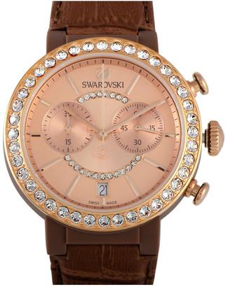 Swarovski Women's Leather Watch