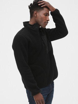 Gap Fleece Quarter-Zip Pullover