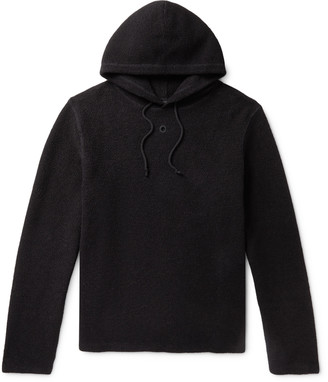 Craig Green Embroidered Textured Cotton-Jersey Hoodie
