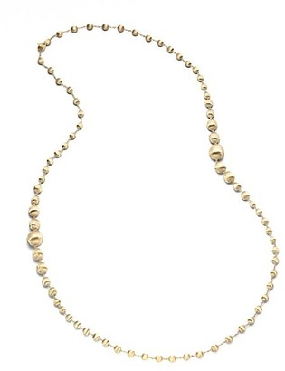Marco Bicego Africa 18K Yellow Gold Long Ball Necklace