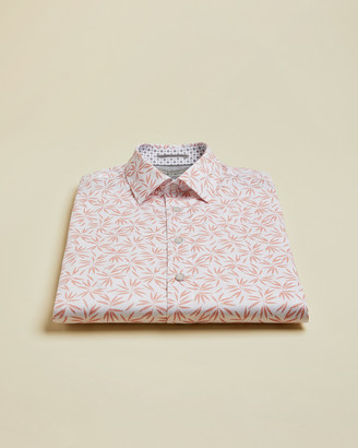 Ted Baker KROSA Short sleeved leaf print shirt