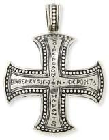 Konstantino Men's Dare Sterling Silver Cross Pendant