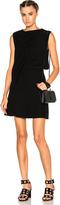 McQ by Alexander McQueen Shawl Drape Mini Dress
