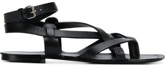 Saint Laurent Culver 05 flat sandals