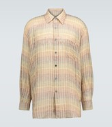 Our Legacy Striped Borrowed shirt