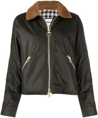 Barbour Teddy-Collar Bomber Jacket