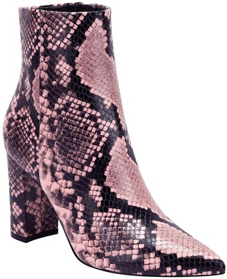 Marc Fisher Ulani Embossed Pointed Bootie