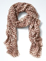 Banana Republic Vanessa Animal Scarf
