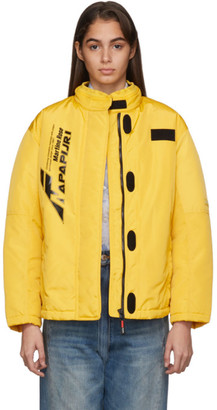 Martine Rose Yellow A-Sand Jacket