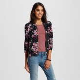 Women's Printed Bomber Black - Xhilaration (Juniors')