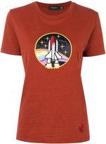 Coach Spaceship Applique T-shirt - women - Cotton - S