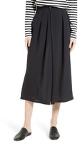 Vince Women's Asymmetrical Pleated Silk Culottes