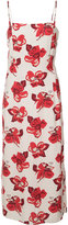 ADAM by Adam Lippes floral print fitted dress