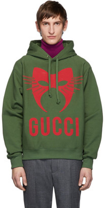 Gucci Green Manifesto Hoodie