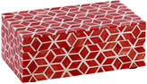 "Mela Artisans 9"" Starshine Box - Marsala Red"